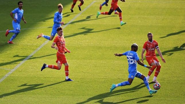 City 4-1 Blackpool: Highlights