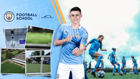 City dan British School Jakarta bekerja sama meluncurkan Manchester City Football School pertama di Indonesia