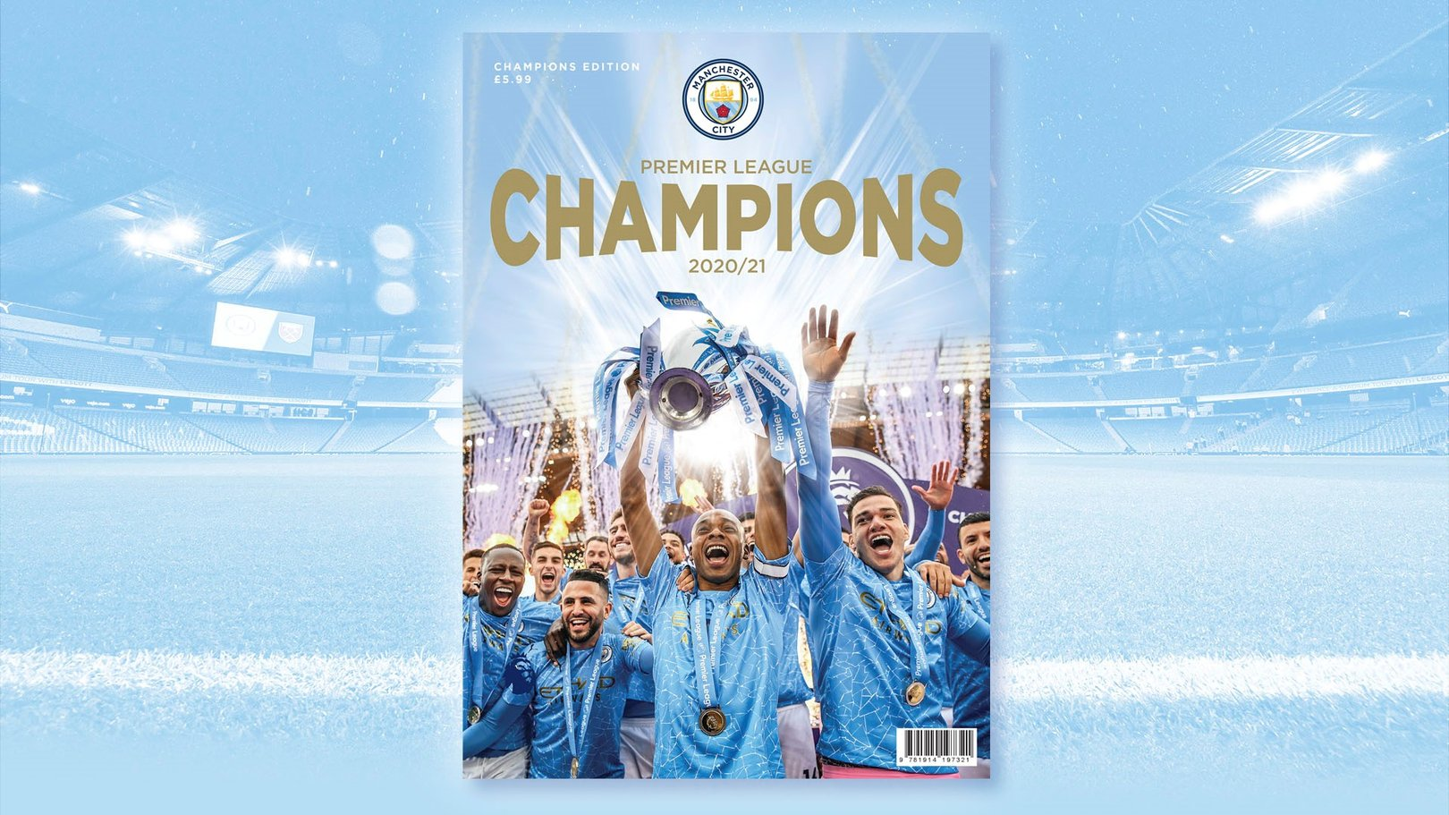 Get your copy of our official Champions magazine