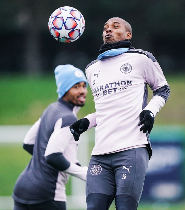 JUMPT TO IT! It was great to see Fernandinho back in the thick of things. Welcome back, skip!