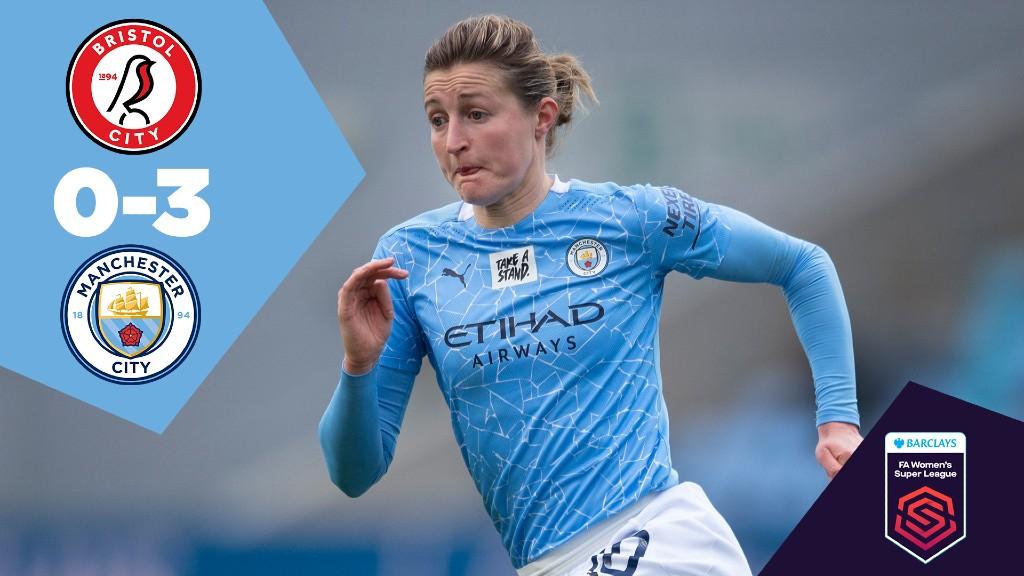 Bristol City 0-3 City: Full-Match Replay