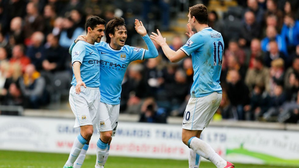 PLAYER OF THE MONTH : In March 2014, Silva's goal v Hull when City were down to 10 men is fondly remembered.