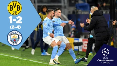 Dortmund 1-2 City: Full-match replay