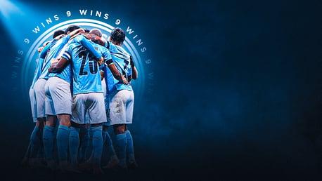 Nove em nove: janeiro perfeito do city bate novo recorde do futebol inglês