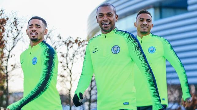 SAMBA SMILE : Gabrial Jesus and Danilo rejoin fellow countryman Fernandinho