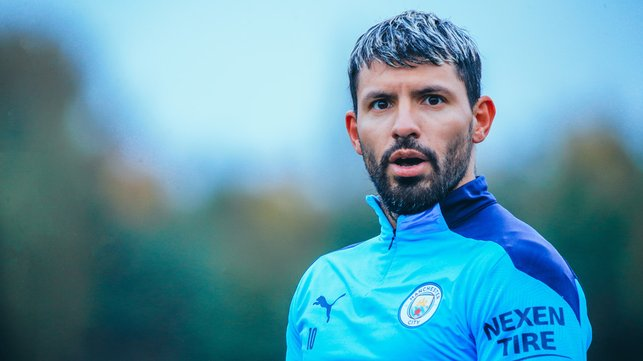 FOCUS TIME: Sergio Aguero is a study in concentration