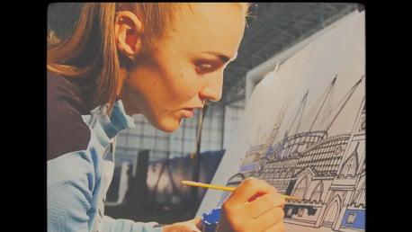 맨체스터 시티를 블루로 칠하다