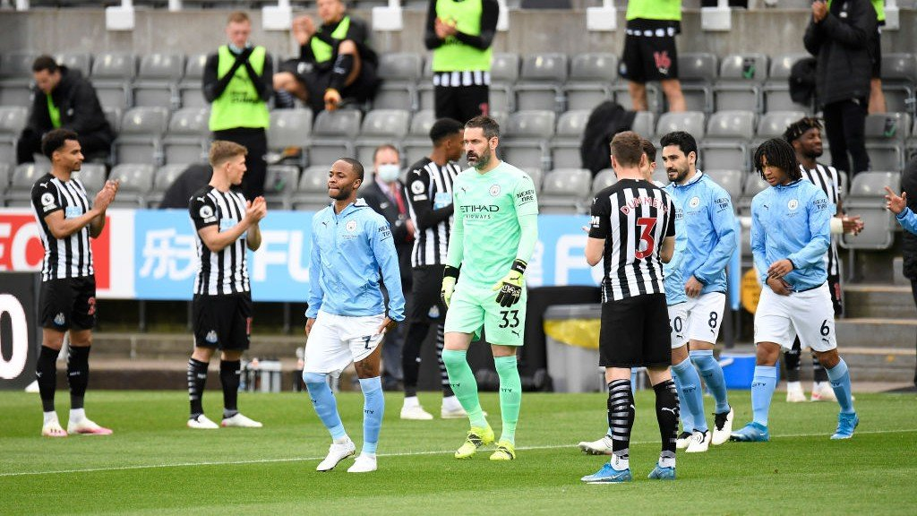Newcastle 3-4 City: resumen amplio