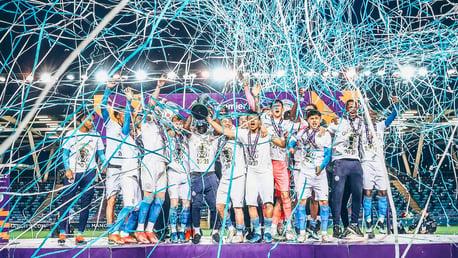 GALLERY: EDS lift Premier League 2 trophy!