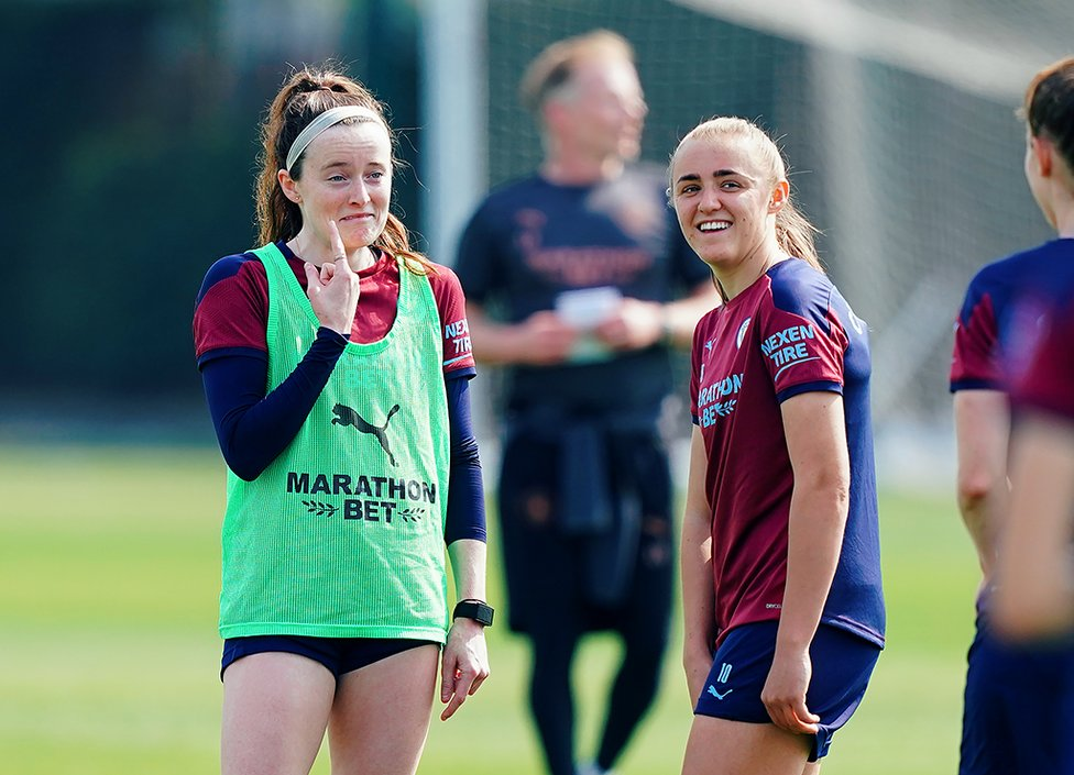 ROSE GOALS? : Gareth Taylor believes we could see the best of Rose Lavelle in the coming weeks...