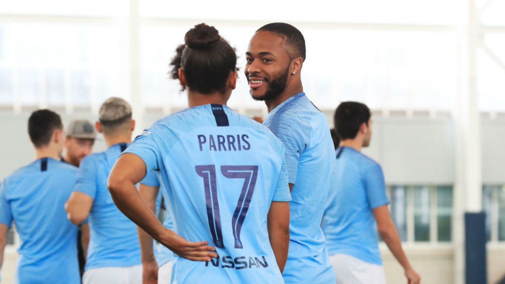 Sterling and Parris win Football Writers' awards
