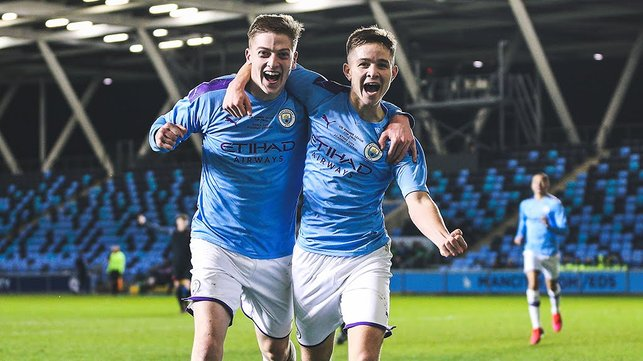 THIS IS HOW IT FEELS TO BE CITY : Sheer delight for Liam Delap and James McAtee!
