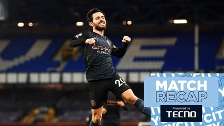 Match Recap: Everton 1-3 City