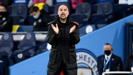 Guardiola: City must focus on the here and now