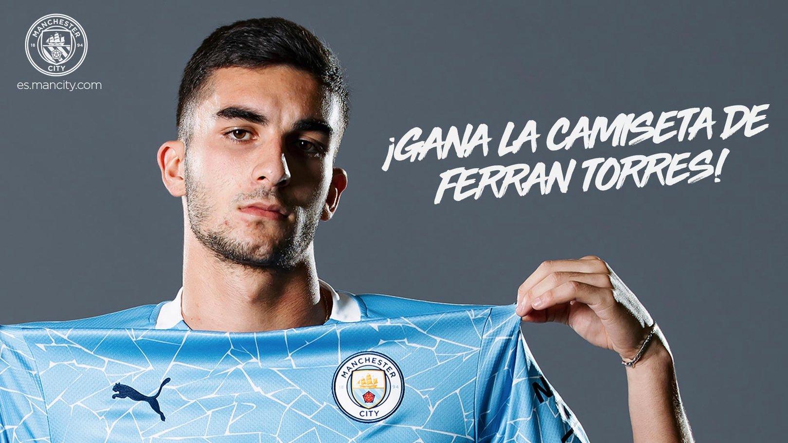 ¡Sorteamos la camiseta de Ferran Torres!