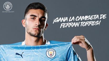 Gana la camiseta de Ferran Torres