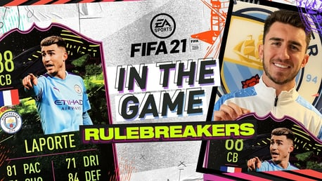 EA Sports In the Game: Aymeric Laporte is a rulebreaker!