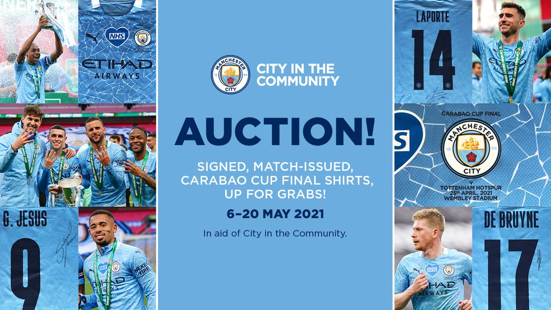 CITC launches Carabao Cup final shirt auction!