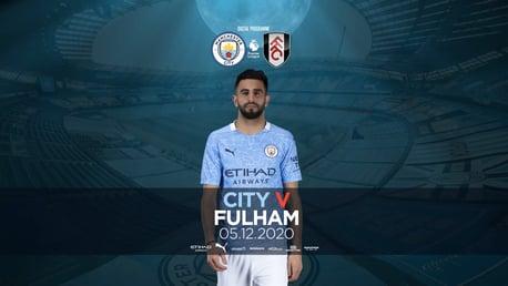 Manchester City v Fulham: FREE Digital programme