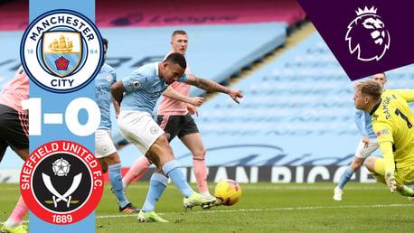 City 1-0 Sheffield United: resumen breve