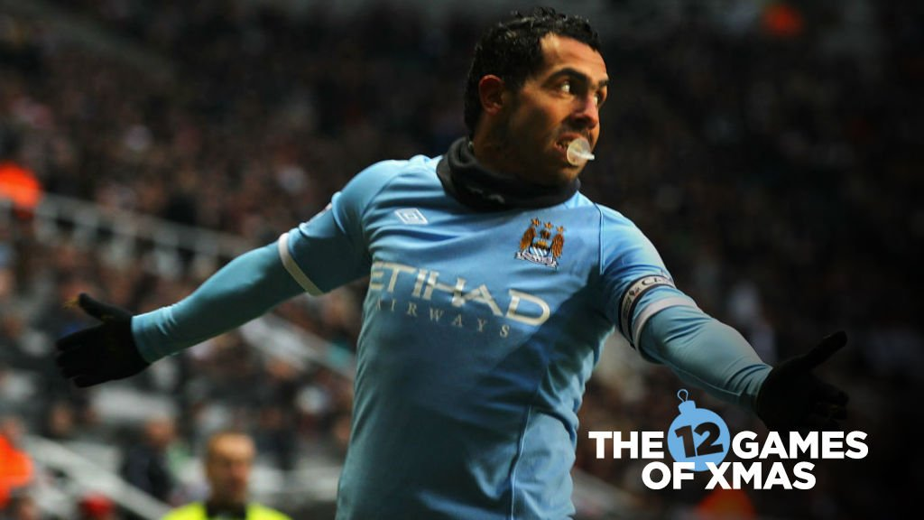 The 12 games of Christmas: Tevez ignites City's Northern lights