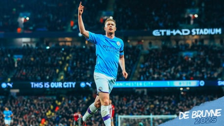 Kevin De Bruyne: City career in pictures