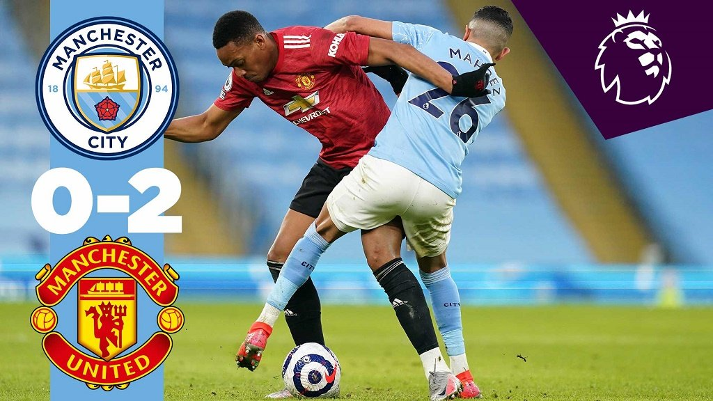 City 0-2 United: Short highlights