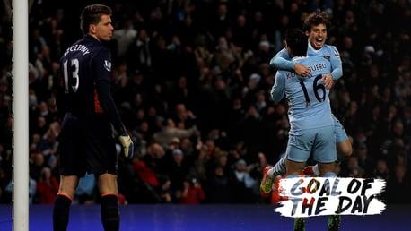 GOTD: Silva scored a cracker against Arsenal in 2011