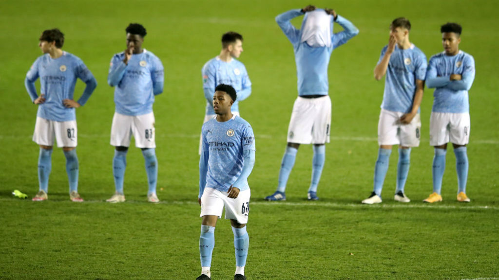 DISAPPOINTMENT: For Keke Simmonds after his penalty miss
