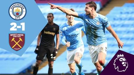 City 2-1 West Ham: Full-match replay