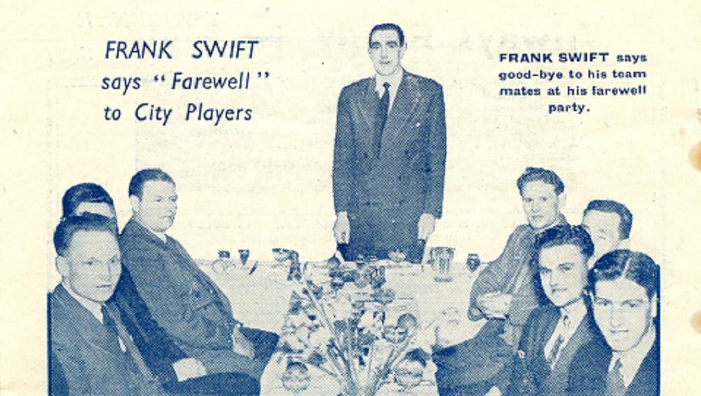 SWIFT ONE : Frank Swift is featured...;