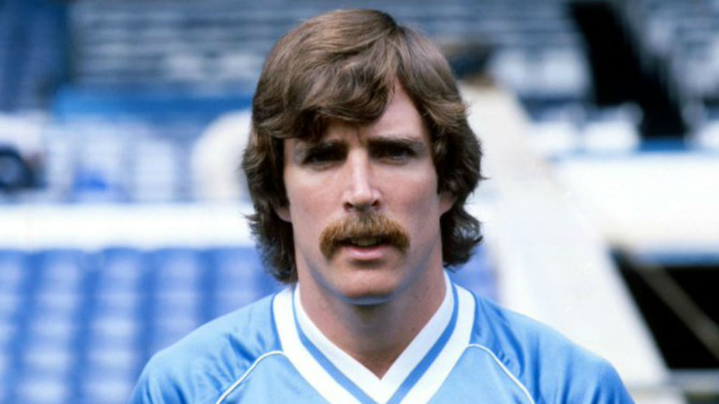 TRUE BLUE: Paul Power during his City playing days