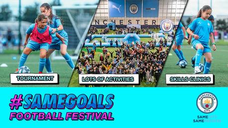 #SAMEGOALS FOOTBALL FESTIVAL