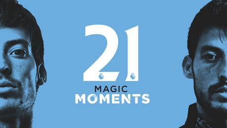 David Silva: 21 momentos de magia