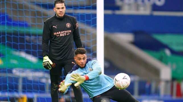 ZACK IS BACK : Zack Steffen makes his return to the starting eleven today.