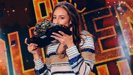 GOLDEN SHOE: Tessa Wullaert has received a prestigious award
