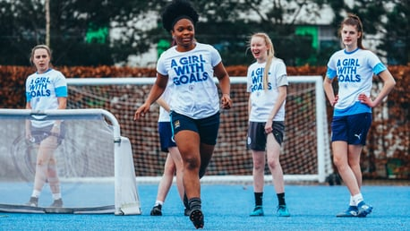CITC BTEC Students get match ready in new 'A Girl With Goals' range