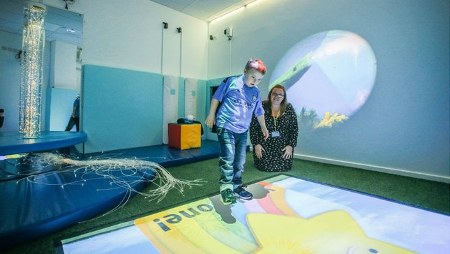 City unveil Sensory Room
