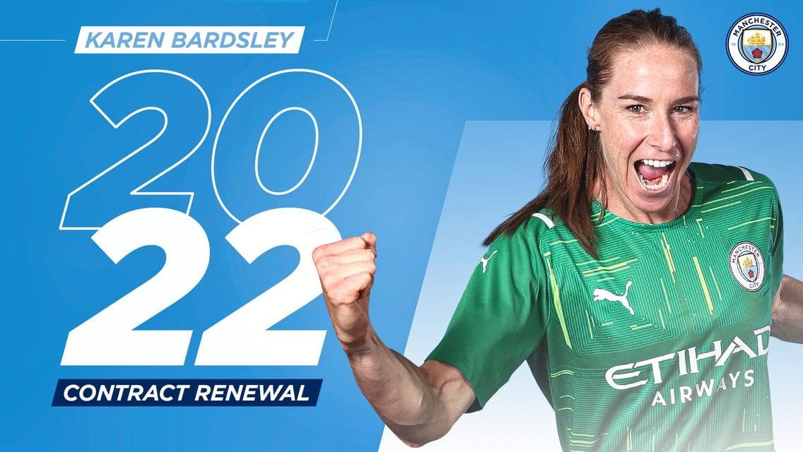Karen Bardsley assina extensão de contrato de um ano