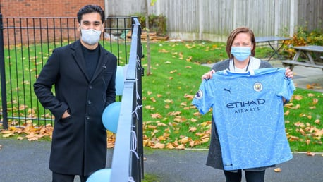 Gundogan celebrates milestone birthday with charity visits