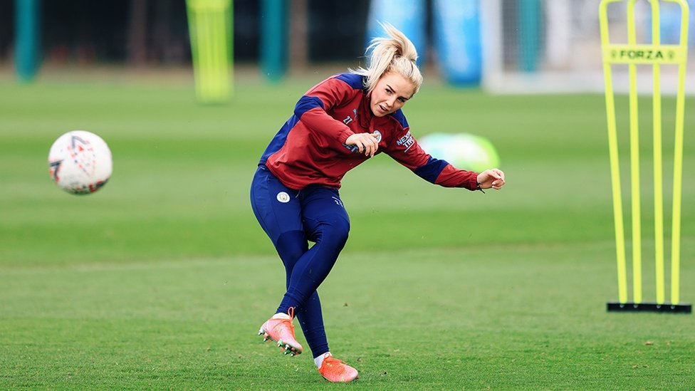 CLEAN STRIKE : Greenwood gets her shooting boots ready!