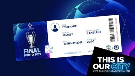 Dapatkan Tiket Virtual Kenang-Kenangan Final Liga Champions Anda!