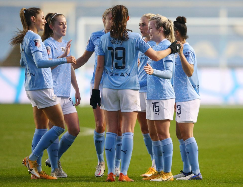 BACK WITH A BANG: Lauren Hemp's 25-yard stunner in the 3-0 Champions League win over Goteburg showed that she was back to her best after an injury lay-off