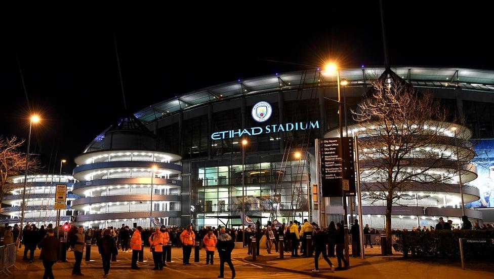SCENE-SETTER : The Etihad Stadium pre-match