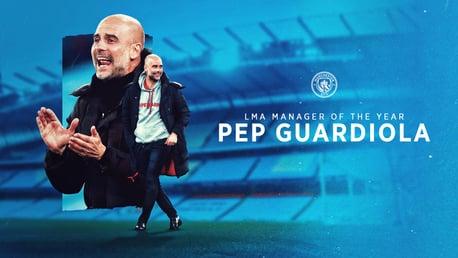 Guardiola, Mejor Entrenador de la Temporada por la LMA