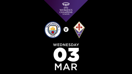WATCH LIVE: City v Fiorentina (available only in the UK & US)