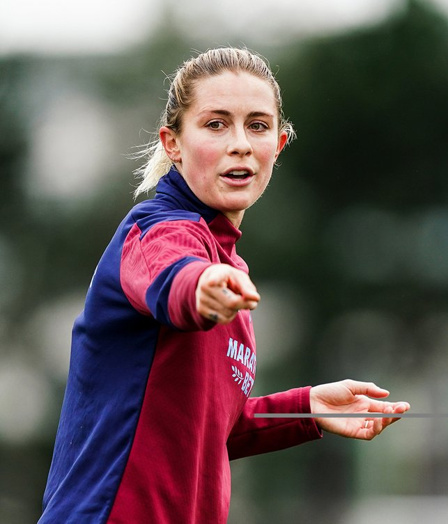 Abby Dahlkemper points the way...
