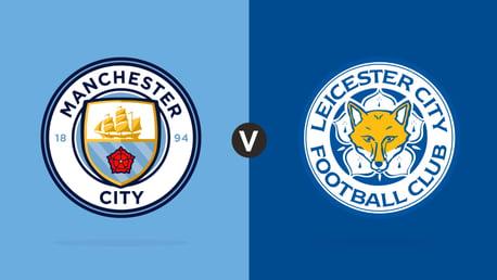 Man City v Leicester City Match centre