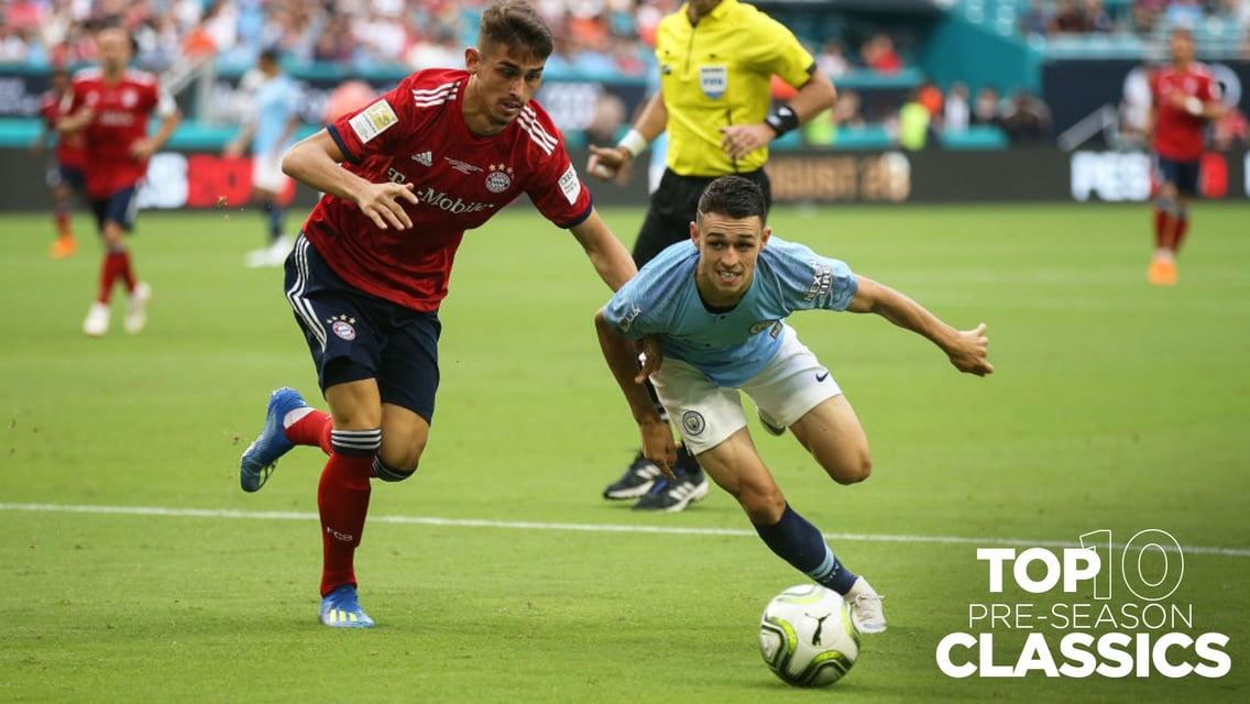 Cuplikan Klasik Pra-musim: City 3-2 Bayern Munich pada 2018