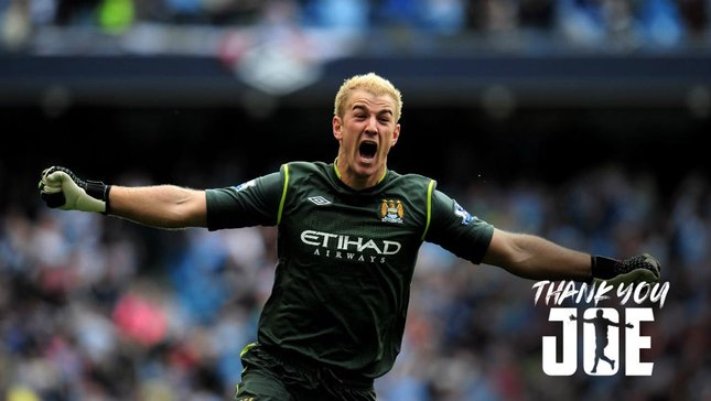 #THANKYOUJOE: JOE HART'S CITY CAREER IN PICTURES